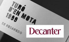 Turó d'en Mota 1999, 'Vino de Leyenda' según Decanter