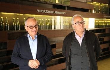 Josep i Antoni Mata Casanovas, premiats per la seva trajectòria professional com a enòlegs de Recaredo